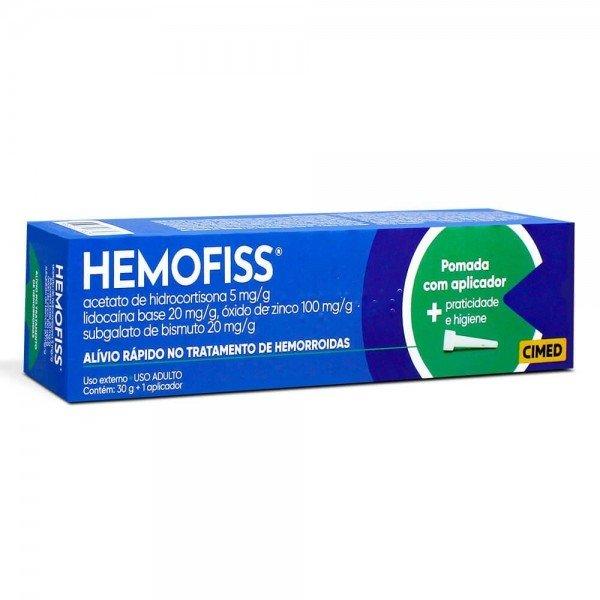 Hemofiss Pomada Com 30G + 10 Aplicadores