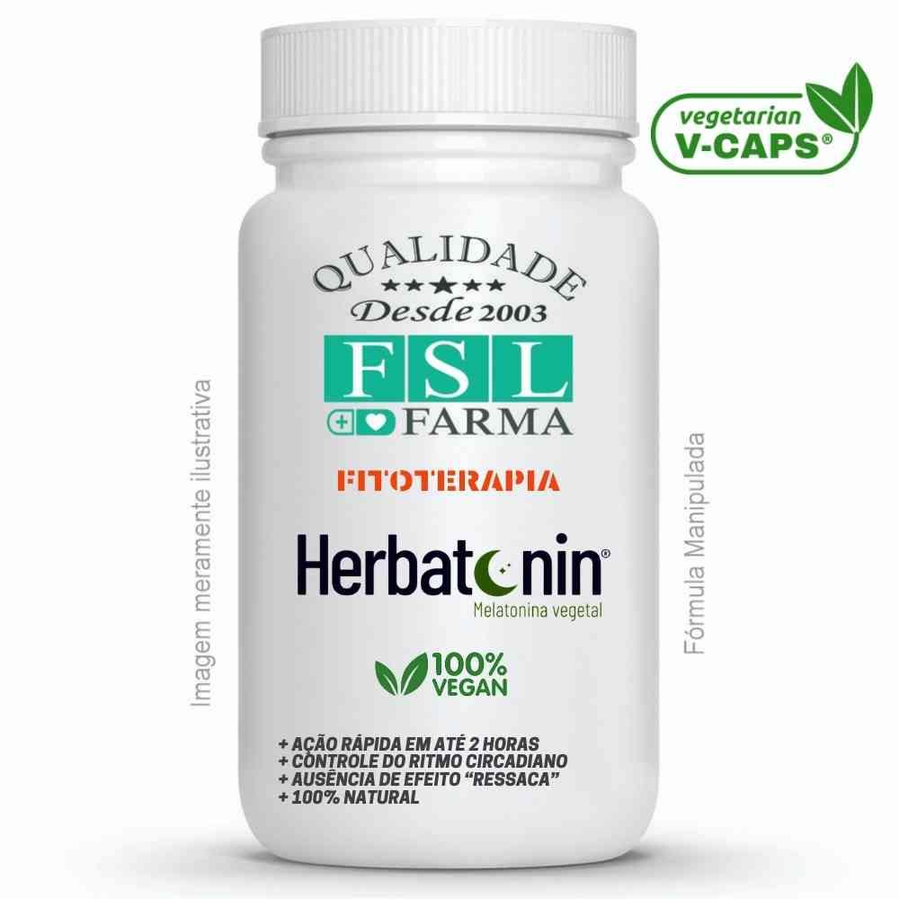 Herbatonin (Melatonina) 50mg Vegan ®