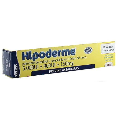Hipoderme (Palmitato De Retinol + Óxido De Zinco + Calcitriol)Pomada 45g