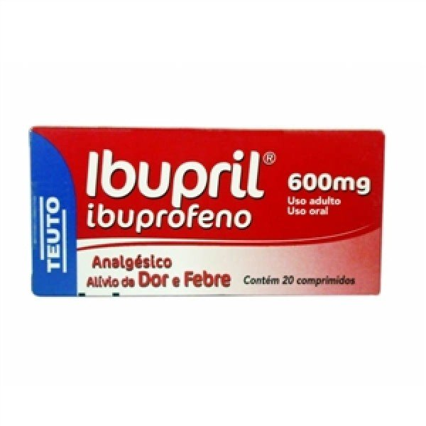 Ibupril 600mg com 20 Comprimidos