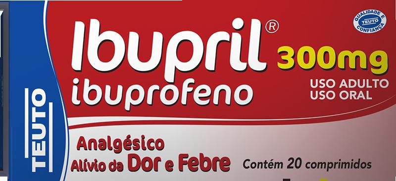 Ibupril (Ibuprofeno) 300mg com 20 comprimidos