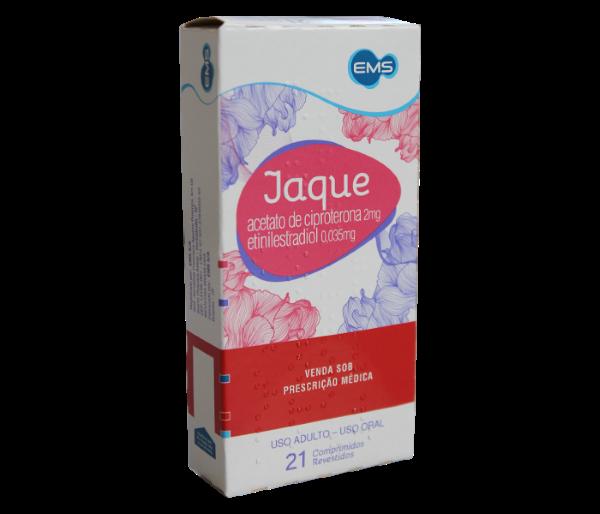 Jaque (Ciproterona + Etinilestradiol) com 21 comprimidos