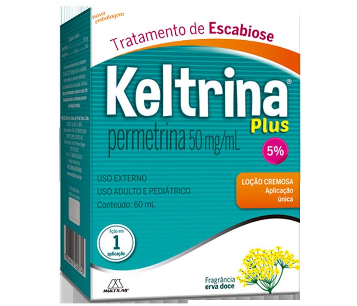 Keltrina Plus 5% Loção 60ml - Multilab