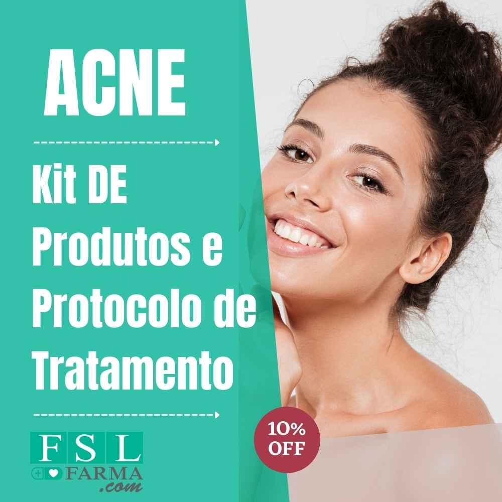 Kit e Protocolo De Tratamento Acne 4 Produtos