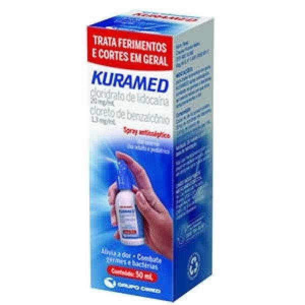 Kuramed Spray Antisséptico C/ 50 Ml