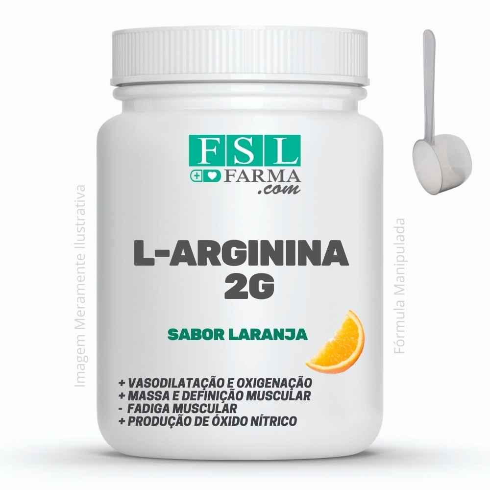 L- Arginina 2g - Vasodilatação e Ganho de Massa ®