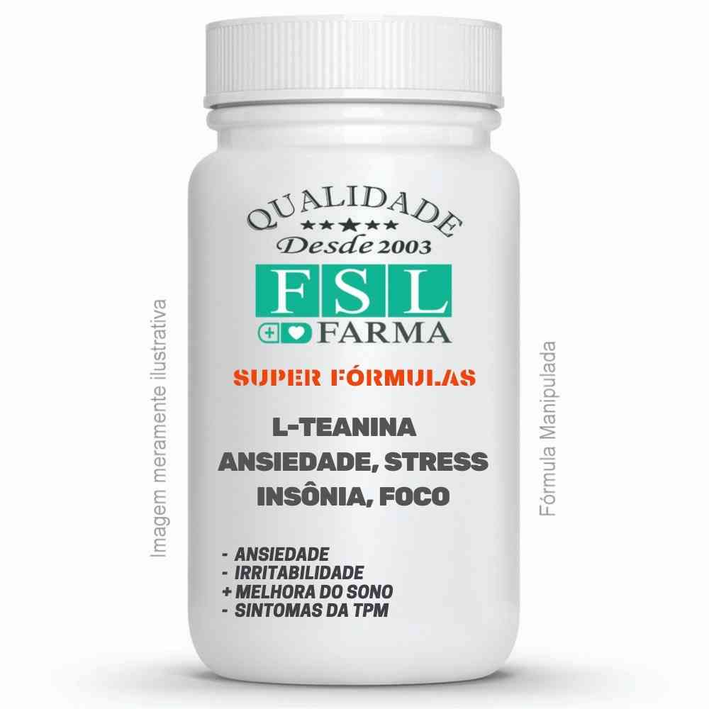L-Teanina 400mg - Ansiedade, stress e insônia ®