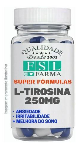 L-Tirosina 250Mg - Agilidade Mental - 60 Cápsulas