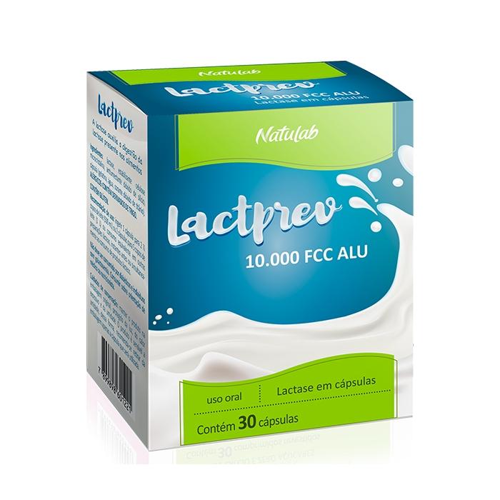 lactprev 10.000 FCC ALU com 30 cápsulas - Natulab