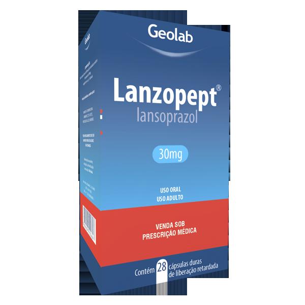 Lanzopept 30mg 28 cápsulas duras Geolab