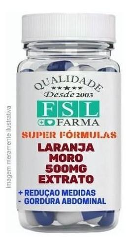 Laranja Moro 500mg - 180 Cápsulas