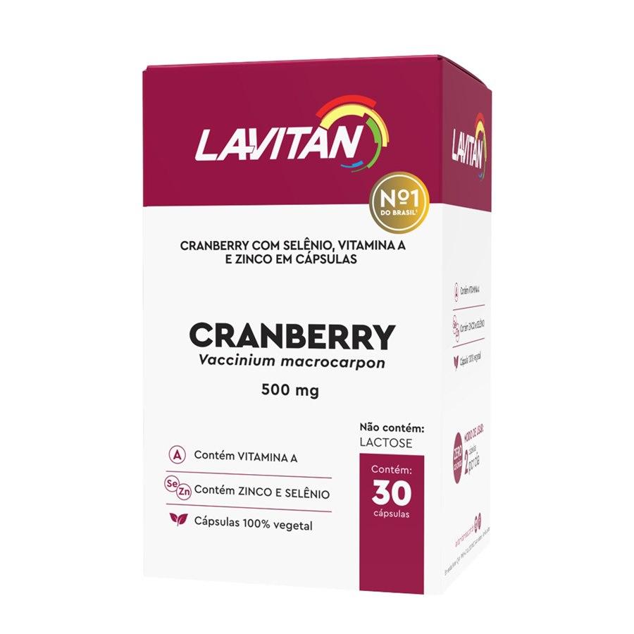Lavitan Cranberry 500mg/30 cápsulas - Cimed