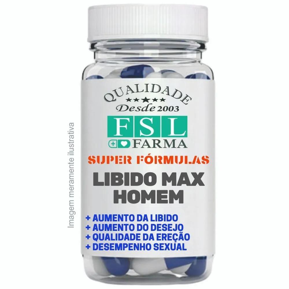 Libido Max Homem - 30 Cáps