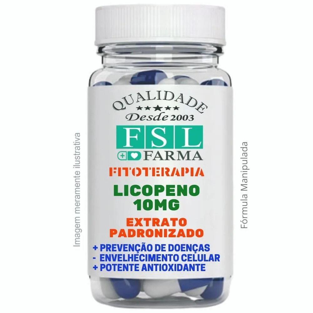 Licopeno 10Mg - Extrato Padronizado