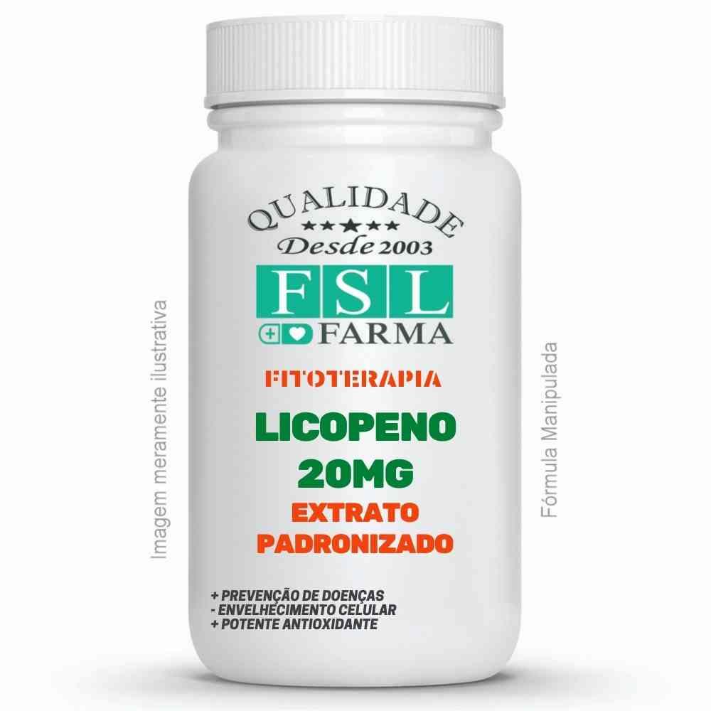 Licopeno 20Mg - Extrato Padronizado ®
