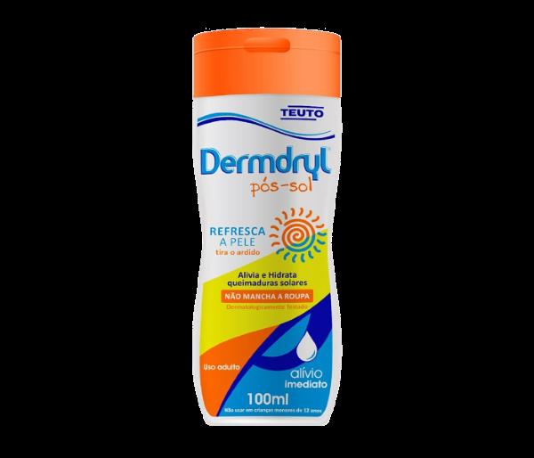 Loção Pós-Sol Dermdryl 100Ml