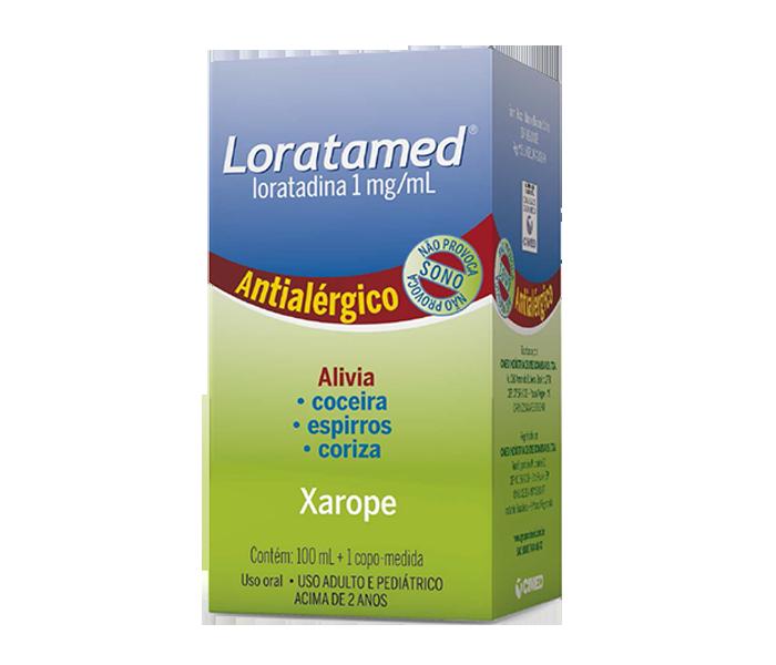 Loratamed 1mg/ml com 100ml - Cimed