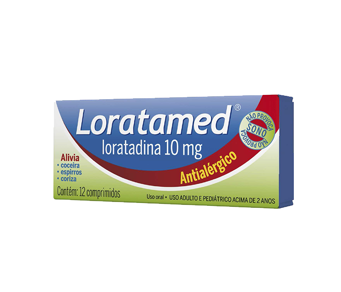 Loratamed (Loratadina) 10mg com 12 comprimidos - Cimed