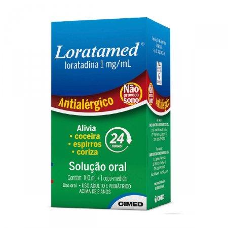 Loratamed (Loratadina) Xarope 100mL