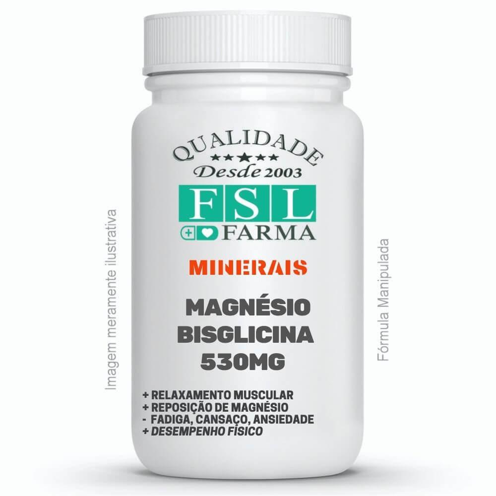 Magnésio Bisglicina (Quelato) 530mg ®