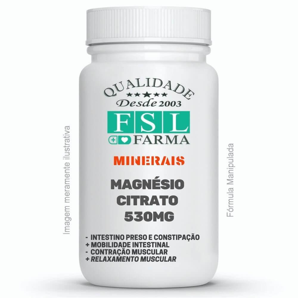 Magnésio Citrato 530mg - Intestino Preso ®