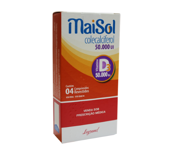Maisol  50.000UI com 4 comprimidos -  Legrand