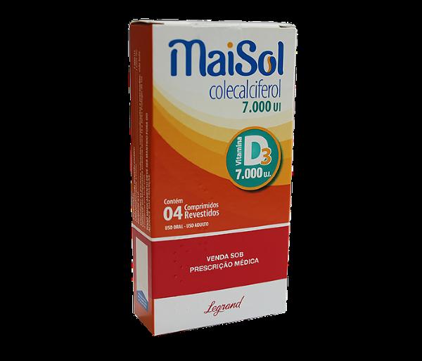 Maisol  7.000UI com 4 comprimidos -  Legrand
