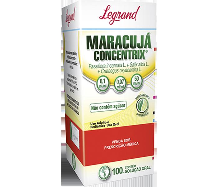 Maracujá Concentrix com 100ml - Legrand