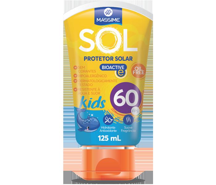 Massime Sol Kids Fps 60 125ml