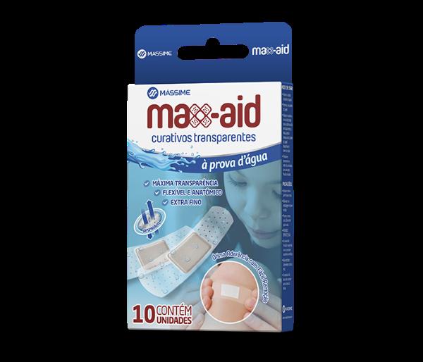 Max-aid Curativos transparentes