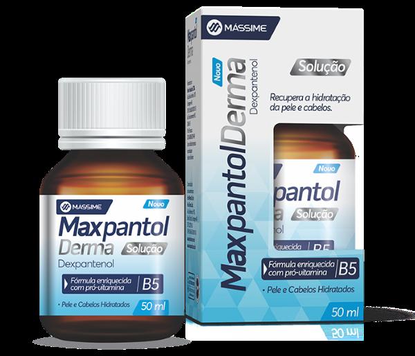 Maxpantol Derma Solução 50ml