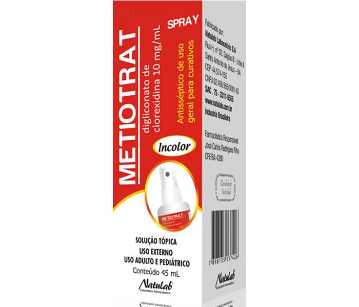Metiotrat Spray 45ml - Natulab