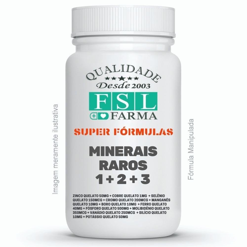 Minerais Raros 1 + 2 + 3 Completo ®