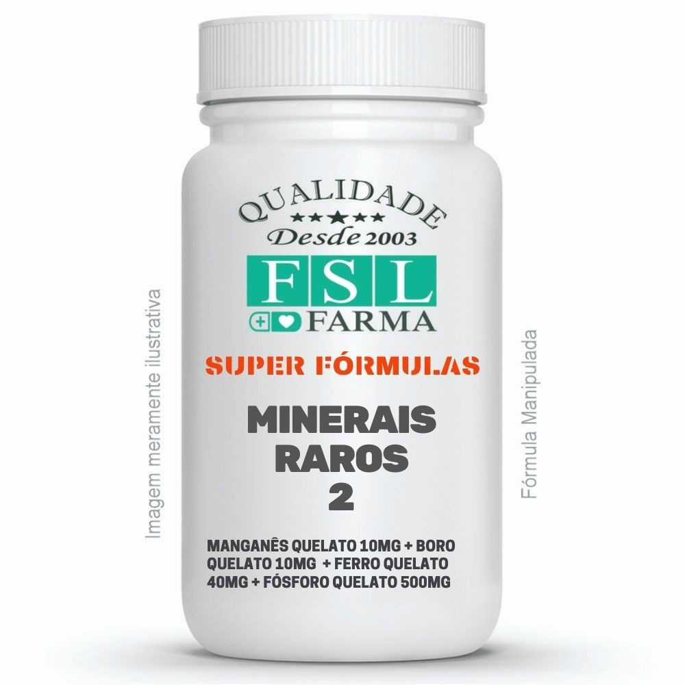Minerais Raros 2 - Boro, Ferro, Fósforo, Manganês ®