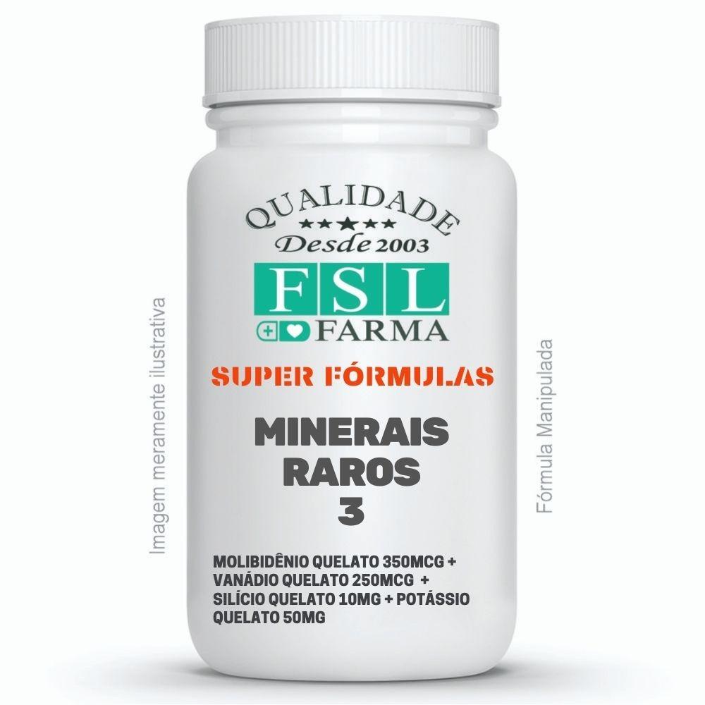 Minerais Raros 3 - Molibidênio, Vanádio, Silício, Potássio ®