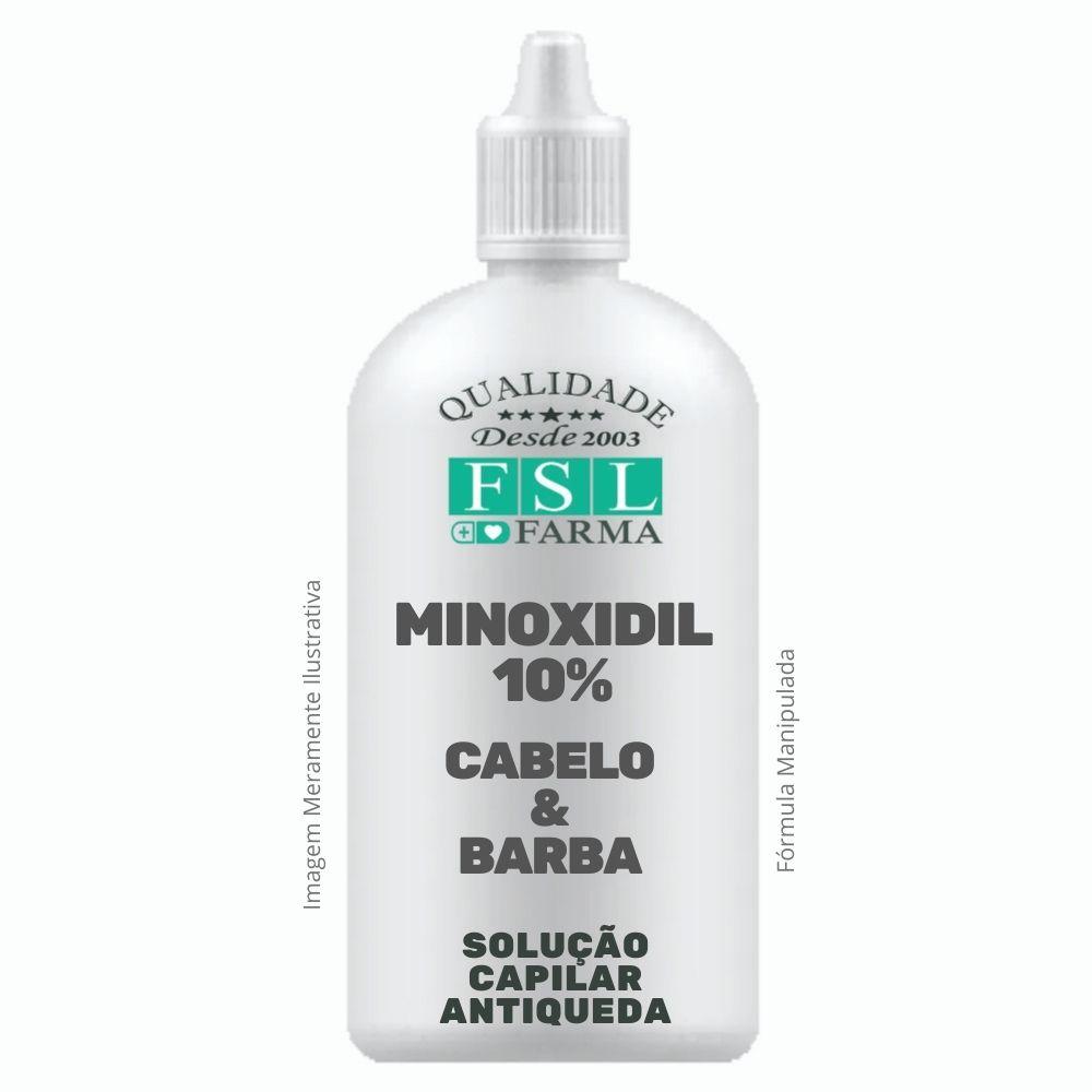 Minoxidil 10% Loção Capilar Conta Gotas 100ml
