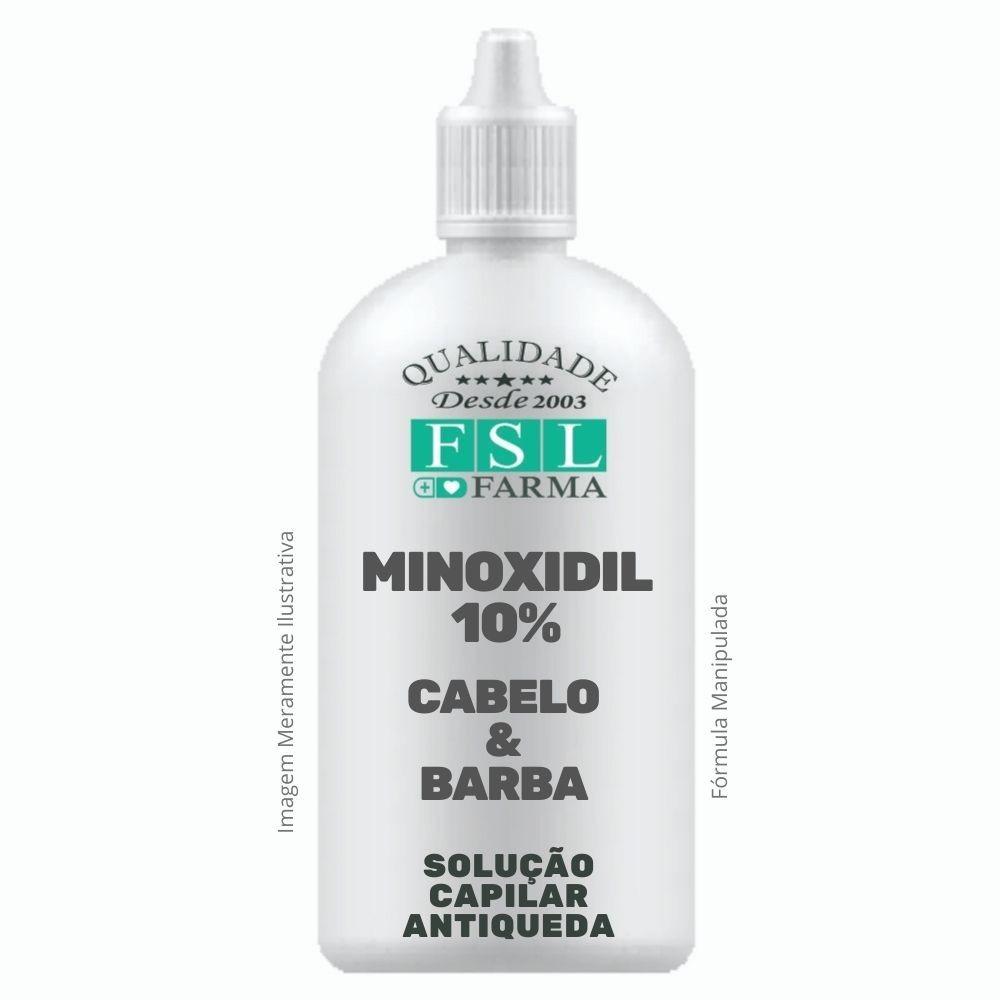 Minoxidil 10% Loção Capilar - Frasco Conta Gotas