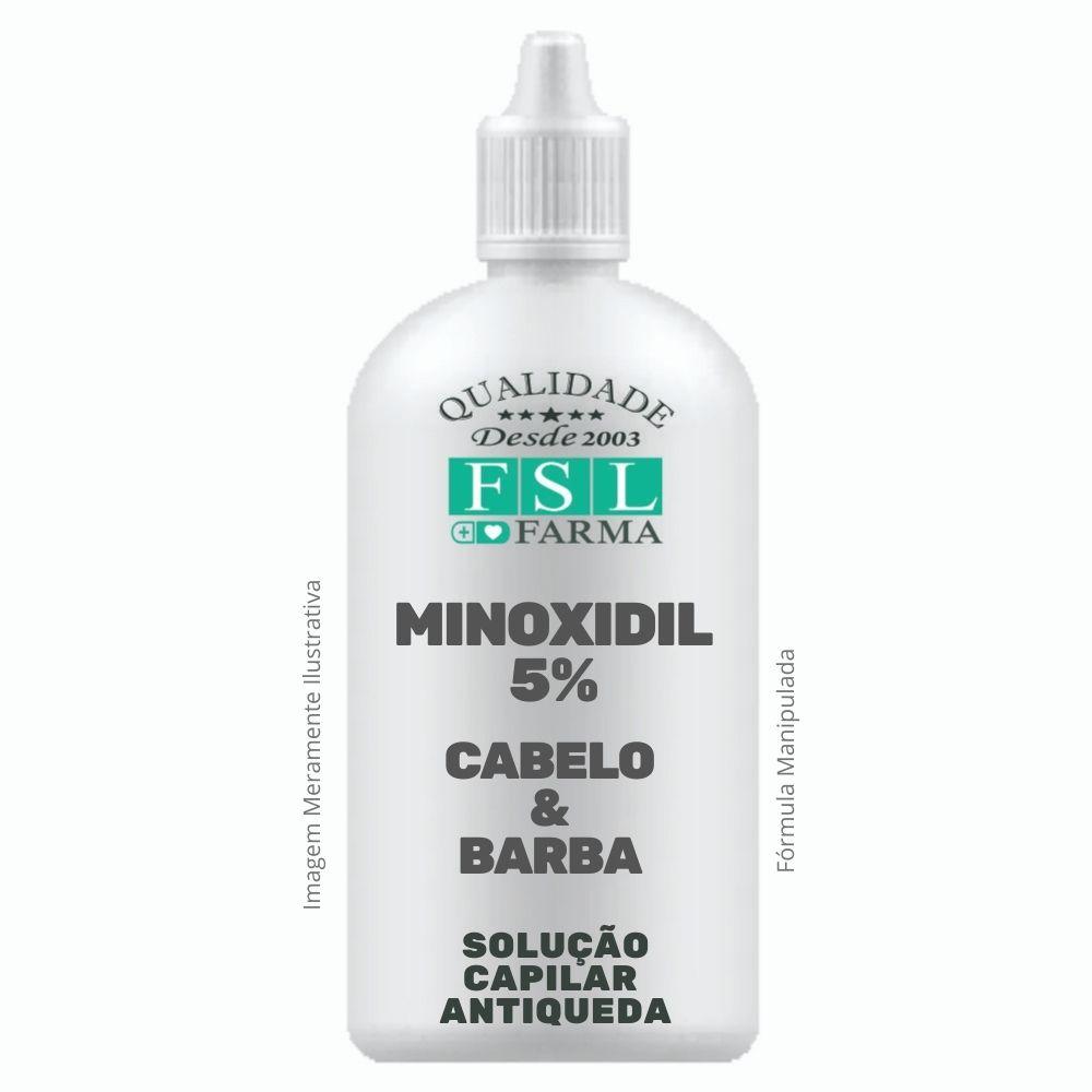 Minoxidil 5% Loção Capilar Conta Gotas 200ml
