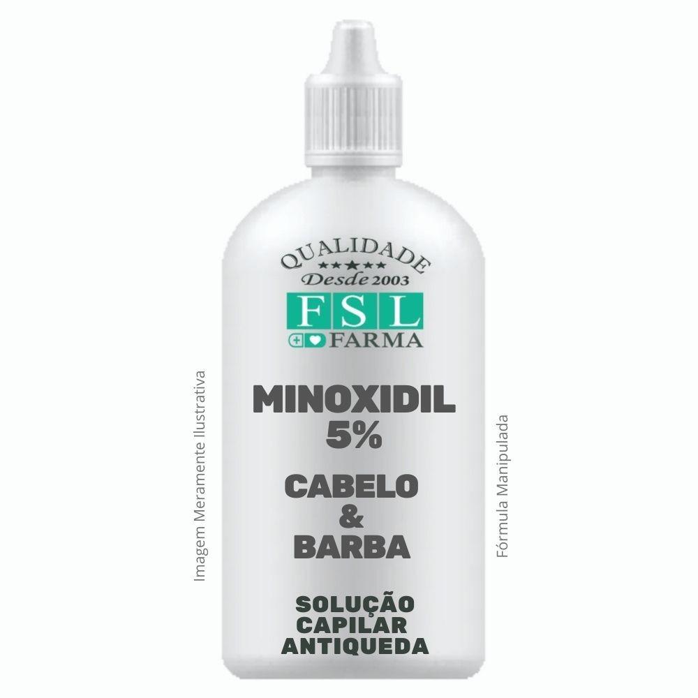 Minoxidil 5% Loção Capilar - Frasco Conta Gotas