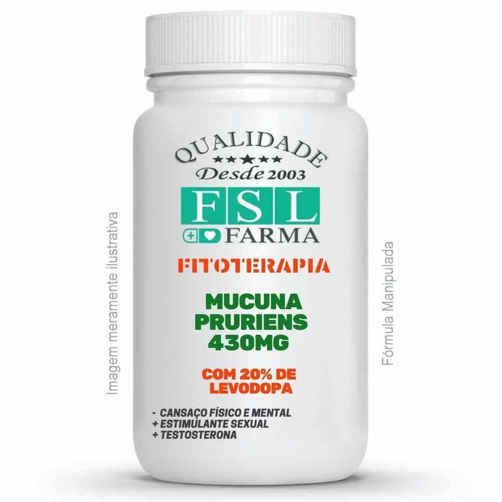 Mucuna Pruriens 20% L-Dopa 430mg ®