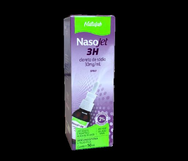 Nasojet 3H 30mg/ml com 50ml - Natulab