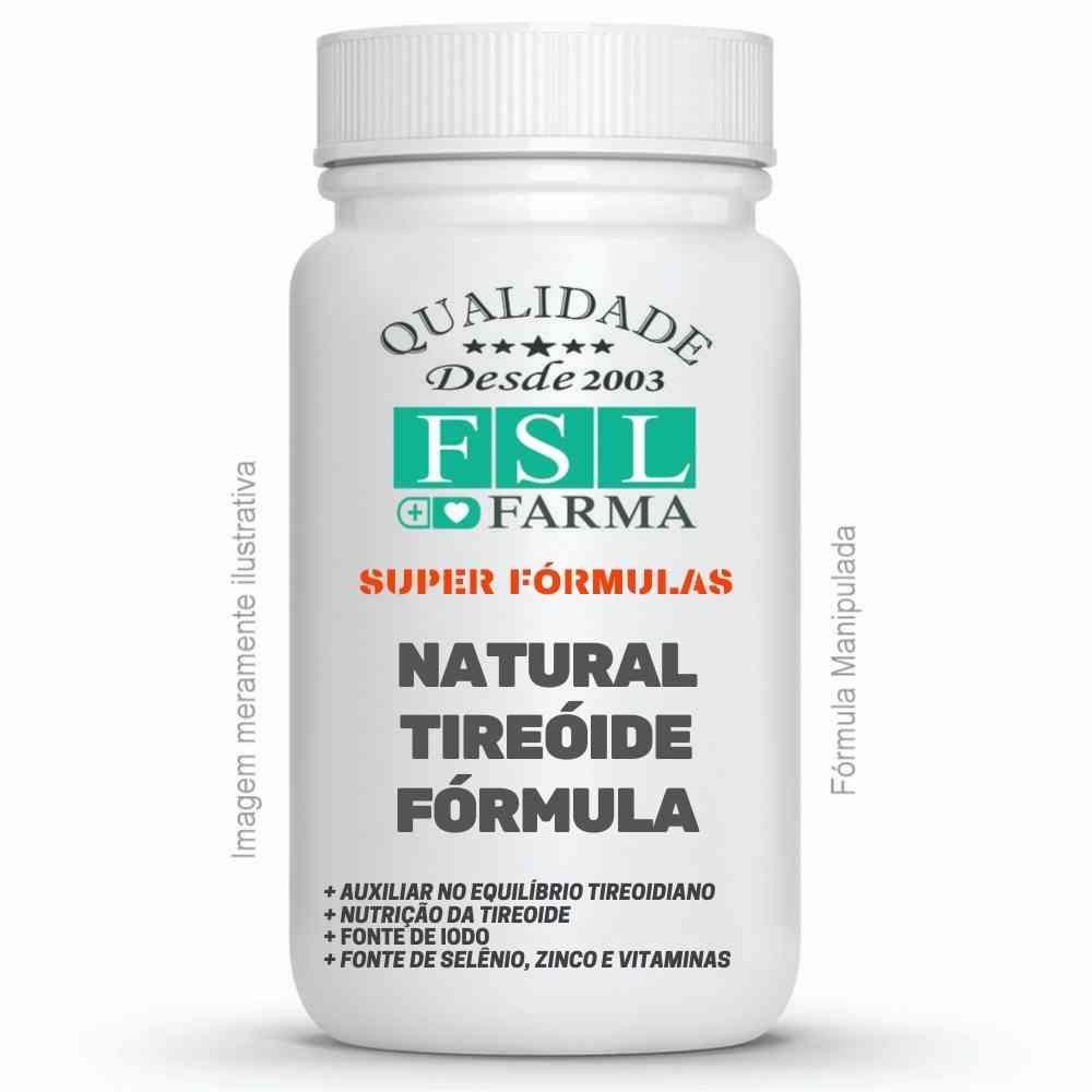 Natural Tireoide Fórmula - Nutrição e Preservação ®