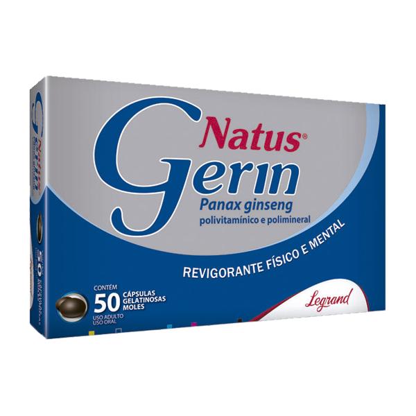Natus Gerin com 50 cápsulas - Legrand