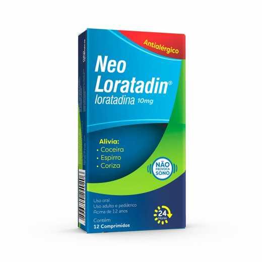 Neo Loratadin (Loratadina) 10 Mg Cpr  X 12