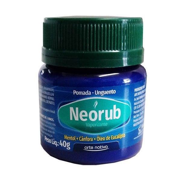 Neorub Frasco com 40g de unguento de uso dermatológico