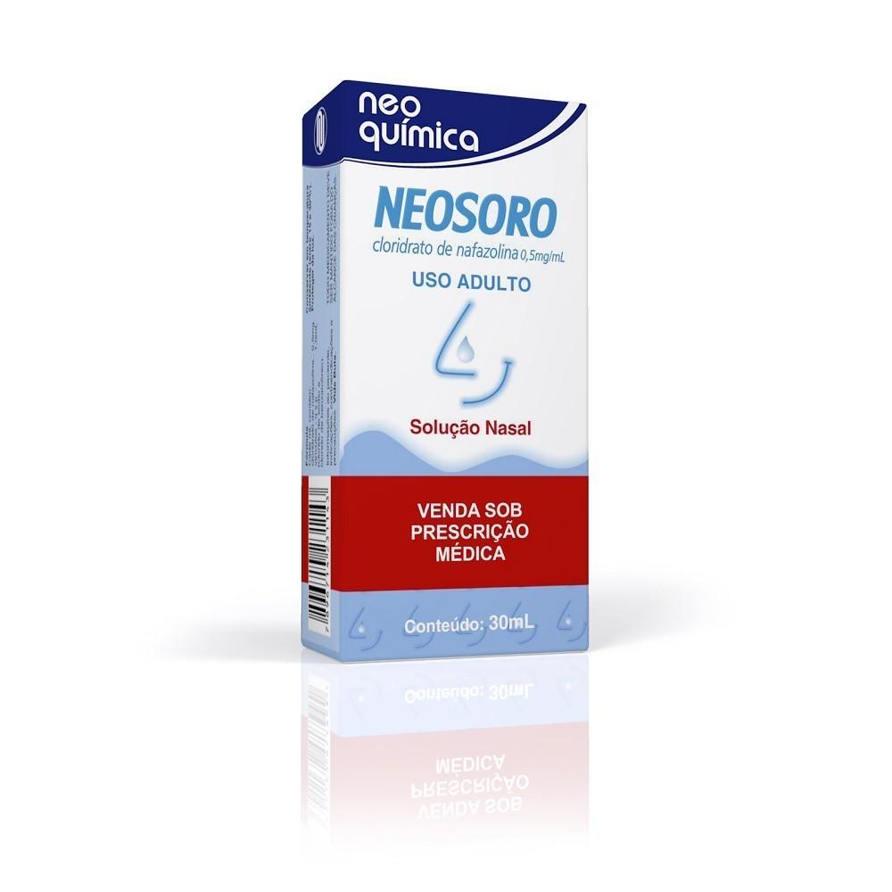 Neosoro 0,5Mg/Ml, Caixa Com 1 Frasco 30Ml