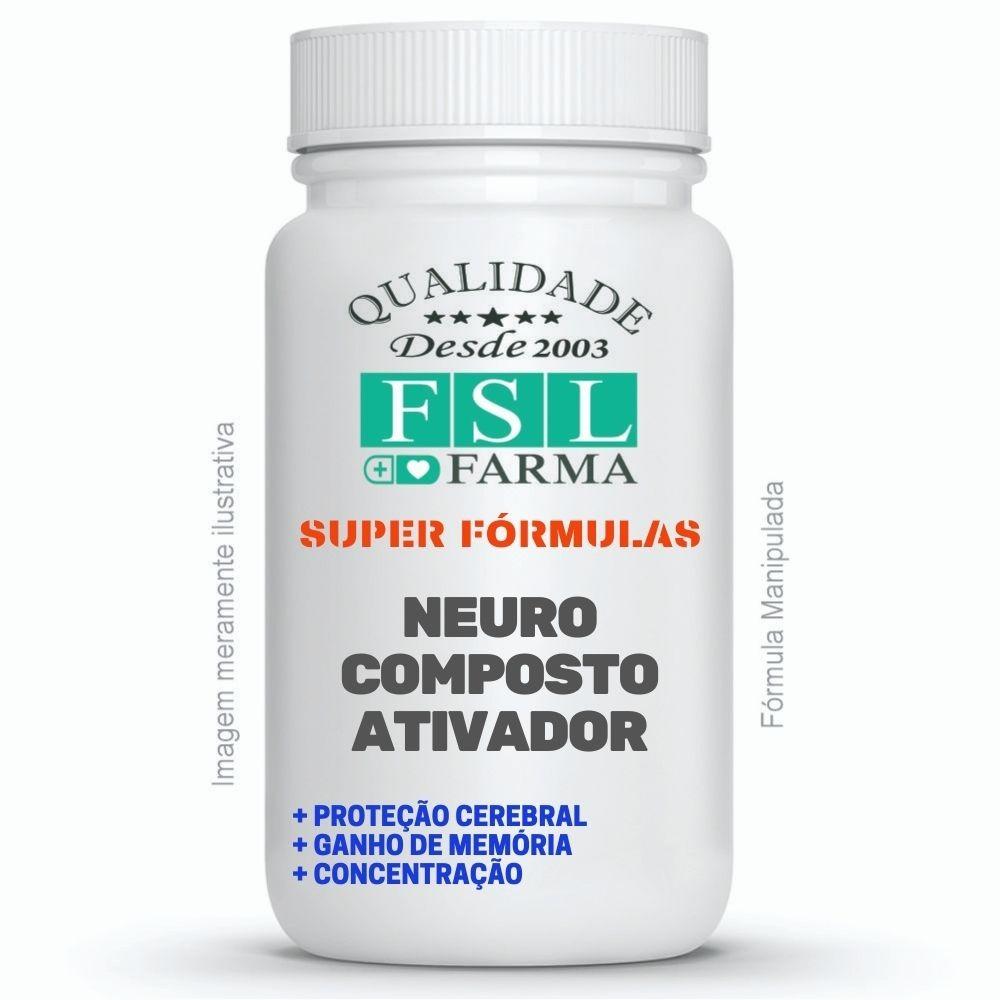 Neuro Ativador Cognitivo, Memória E Raciocínio - 90 Cáps