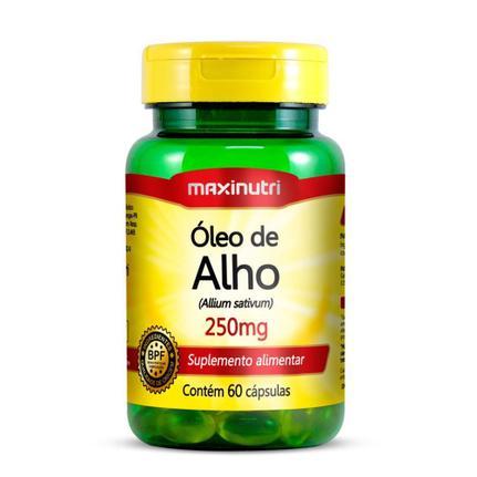 Óleo De Alho - 60 Cápsulas 250mg - Maxinutri