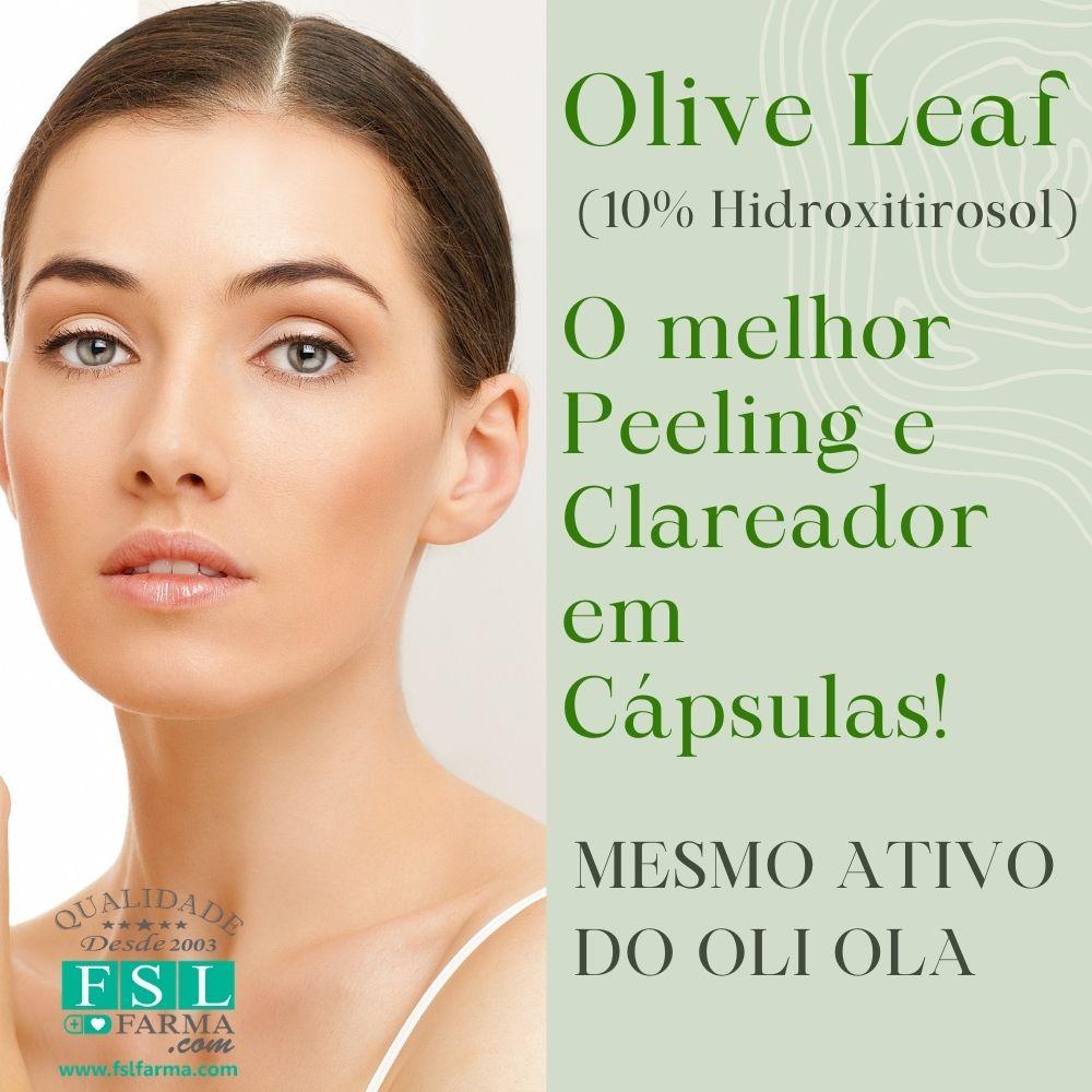 Olive Leaf 10% Hidroxitirosol (Mesmo Ativo do Oli Ola) 300mg ®