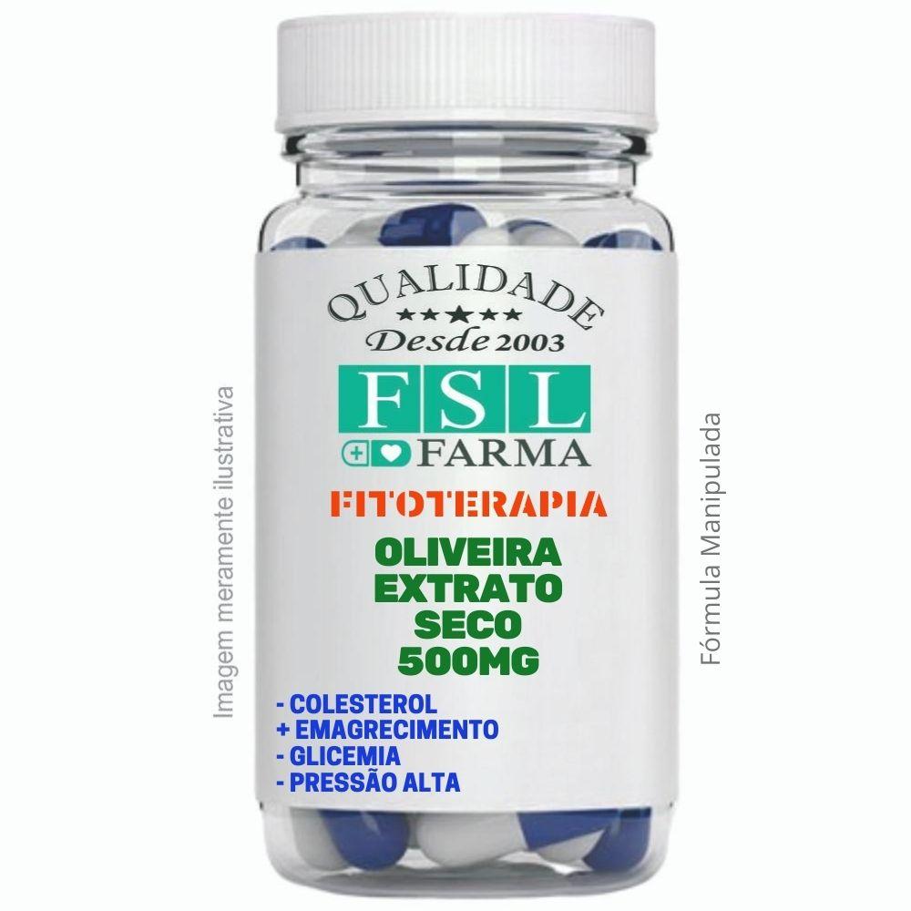 Oliveira Extrato Seco (Olea europaea) 500mg